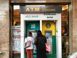 yangon bank atm