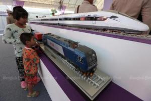 high speed train in thailand