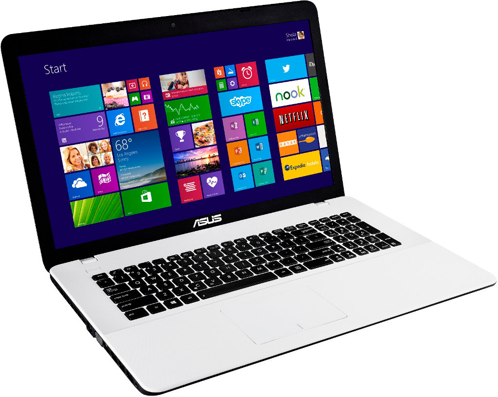 Notebook Weiß Asus F751ld Ty107h 43 94 Cm Notebook Weiß Amazon De