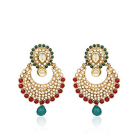 Buy Earrings Online at Low Prices in India | Earrings for ...