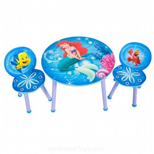 Home Office Furniture Little Mermaid Round Table And