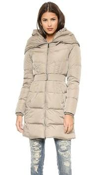 Add Down Shawl Collar Down Coat | SHOPBOP