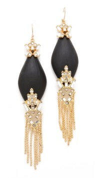 Alexis Bittar Teatro Fringed Earrings | SHOPBOP