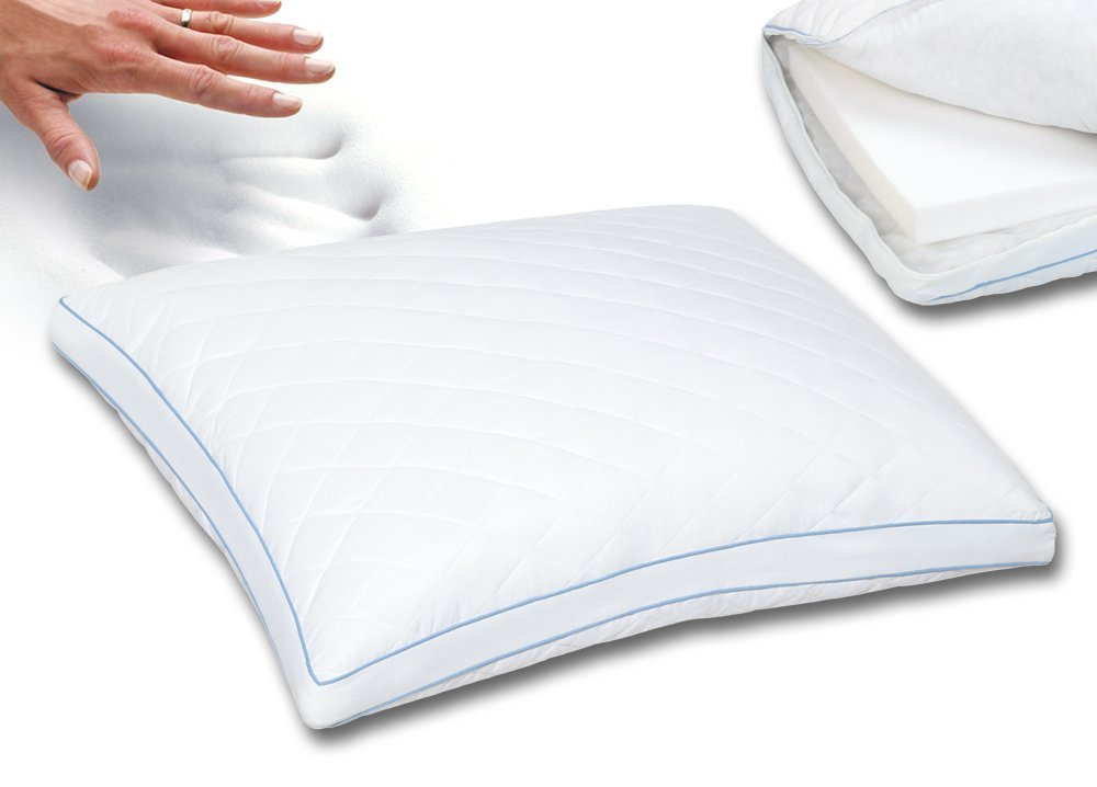 Sleep Innovations Reversible 2 In 1 Bed Pillow King Misc