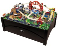 Amazon.com: Metropolis Train Table & Set: Toys & Games