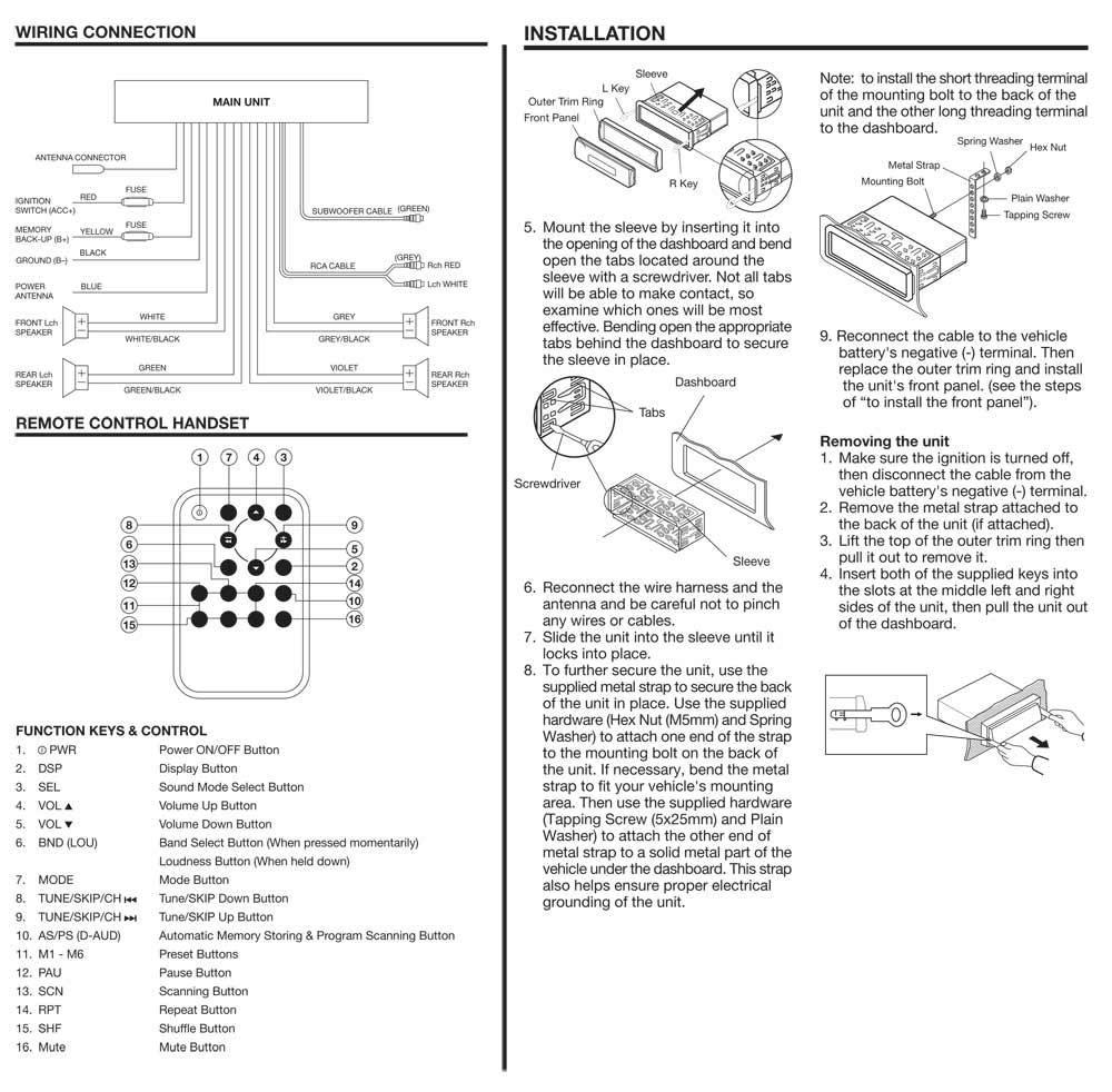 pyle radio wiring diagram