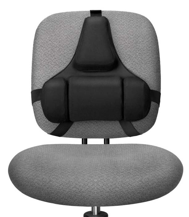 Mid Spinal Support Chair Seat Back Lower Lumbar Cushion