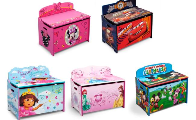 Amazon Delta Children Deluxe Toy Box Disney Mickey