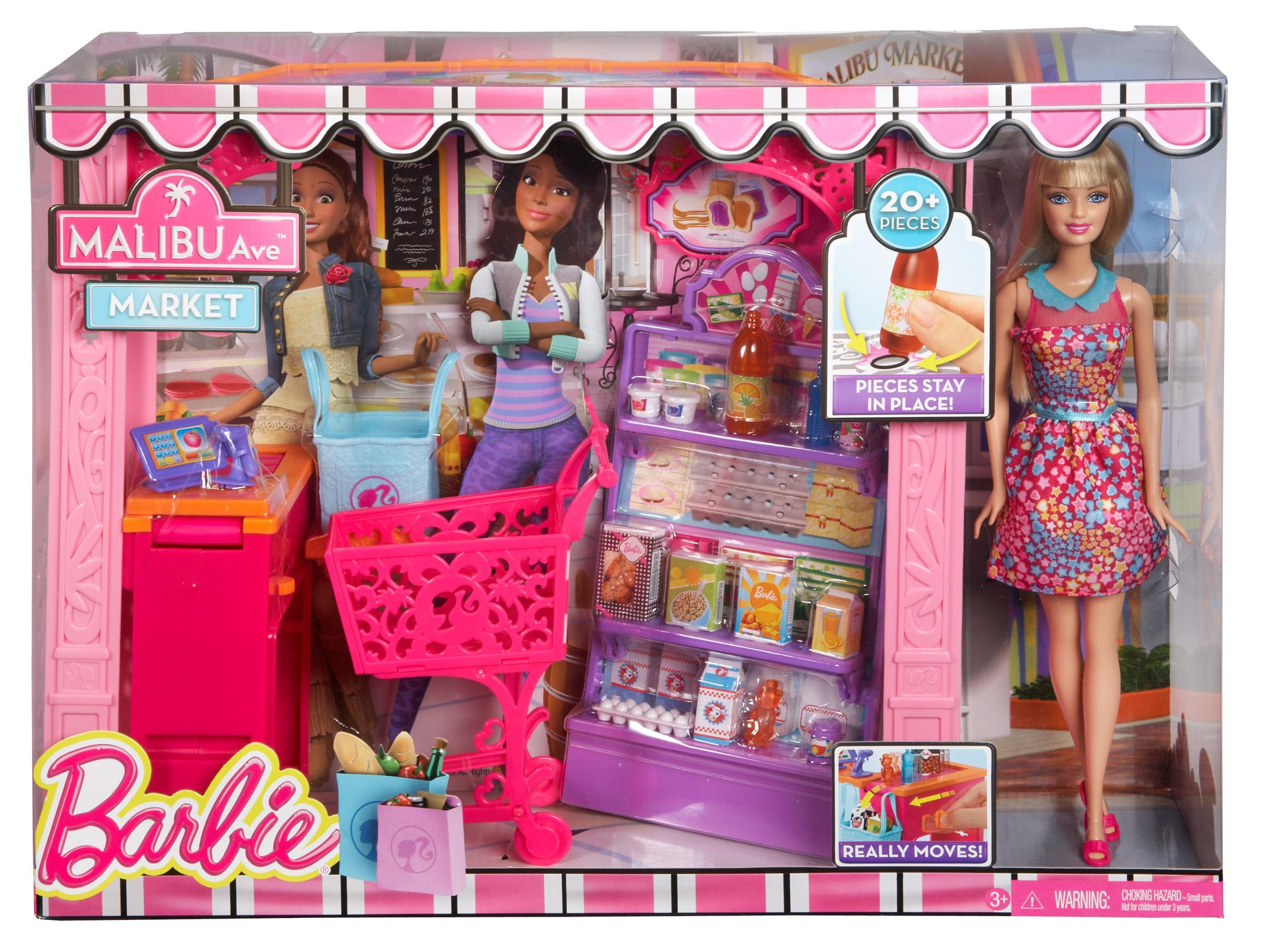 Barbie Toys Australia Mattel Barbie Life In The Dreamhouse Malibu Grocery Store