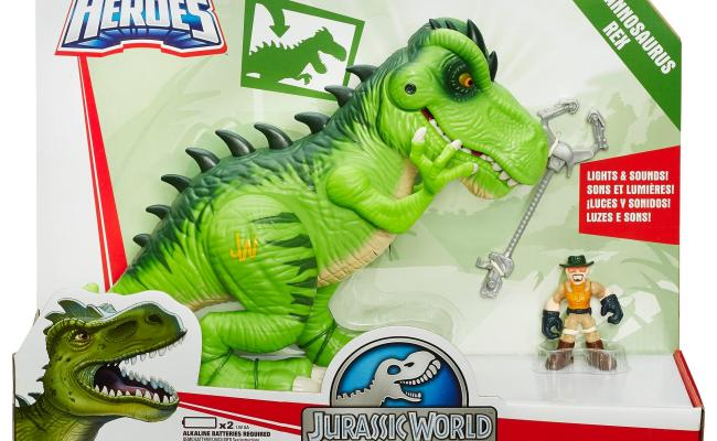 Amazon Playskool Heroes Jurassic World T Rex Figure