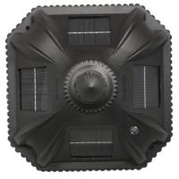 Amazon.com : Gama Sonic Royal Solar Lamp Post and Single ...