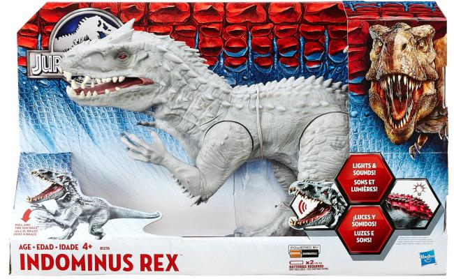 Amazon Jurassic World Chomping Indominus Rex Figure