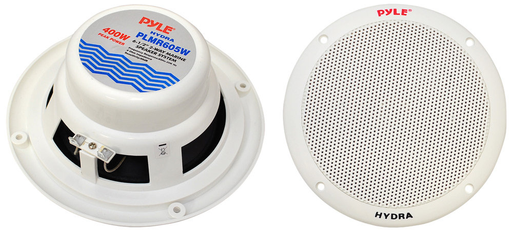 Pyle - PLMRKT2A - Marine and Waterproof - Amplifier  Speaker Kits