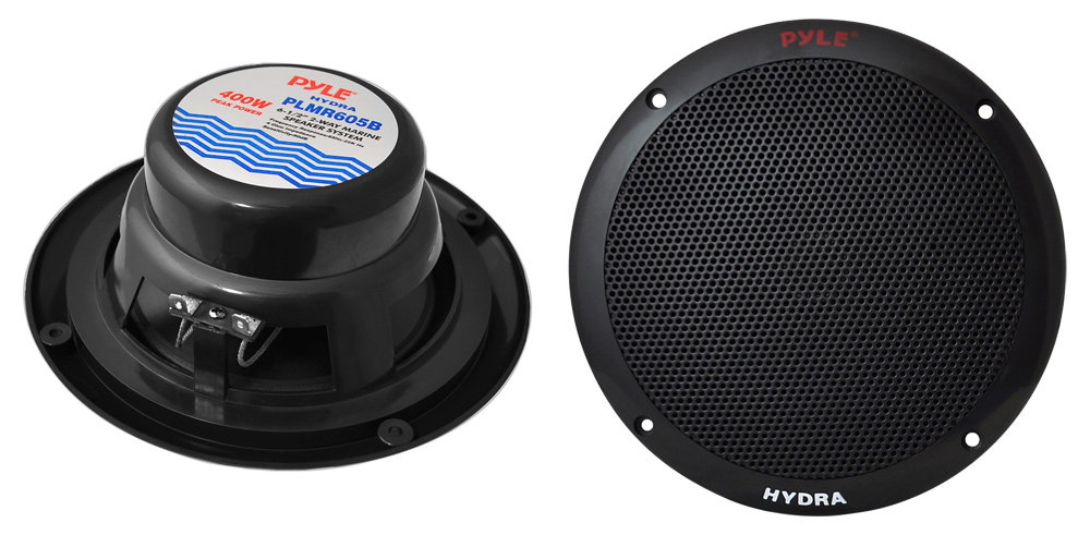Pyle - PLMRKT4B - Marine and Waterproof - Amplifier  Speaker Kits