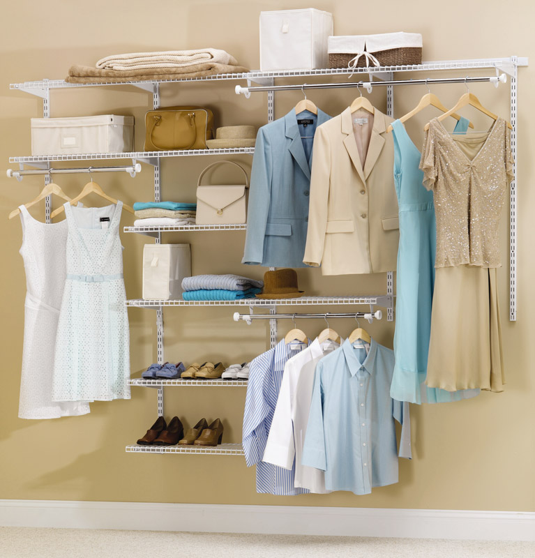 Clothes Storage Systems Amazon.com - Rubbermaid Configurations Custom Closet