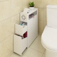 [USD 46.65] Toilet Storage Cabinet bathroom toilet side ...