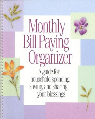 Monthly Bill-Paying Organizer - Christianbook