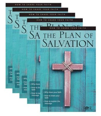 The Plan of Salvation, Pamphlet - 5 Pk 9781628622621