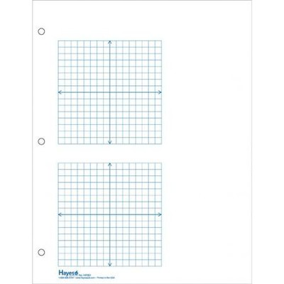 2 Grid XY Graph Paper, 1/4 Sq, 500 Sheets - Christianbook