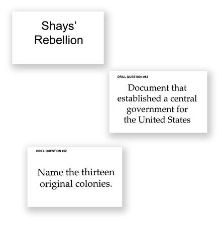 200 Questions About American History Flashcards 9781615386864