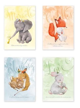 Bundles of Joy (KJV) Box of 12 Baby Congratulation Cards