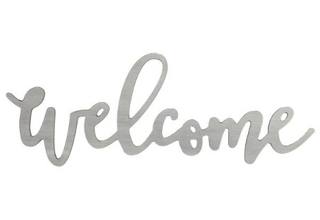 Welcome Word Art - Christianbook