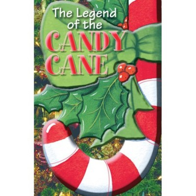 Candy Cane Legend Bible tracts