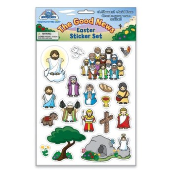 Religious Easter Sticker Set