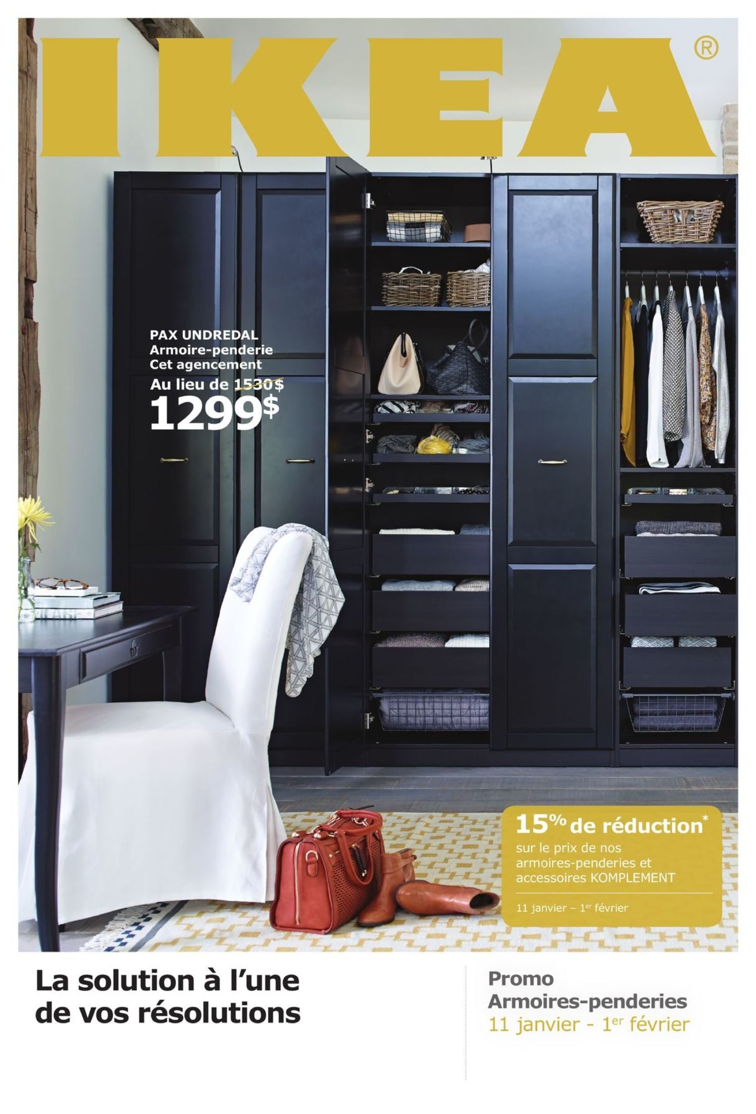 Armoire Promo Ikea Weekly Flyer Promo Armoires Penderies Fr Jan 11 Feb 1