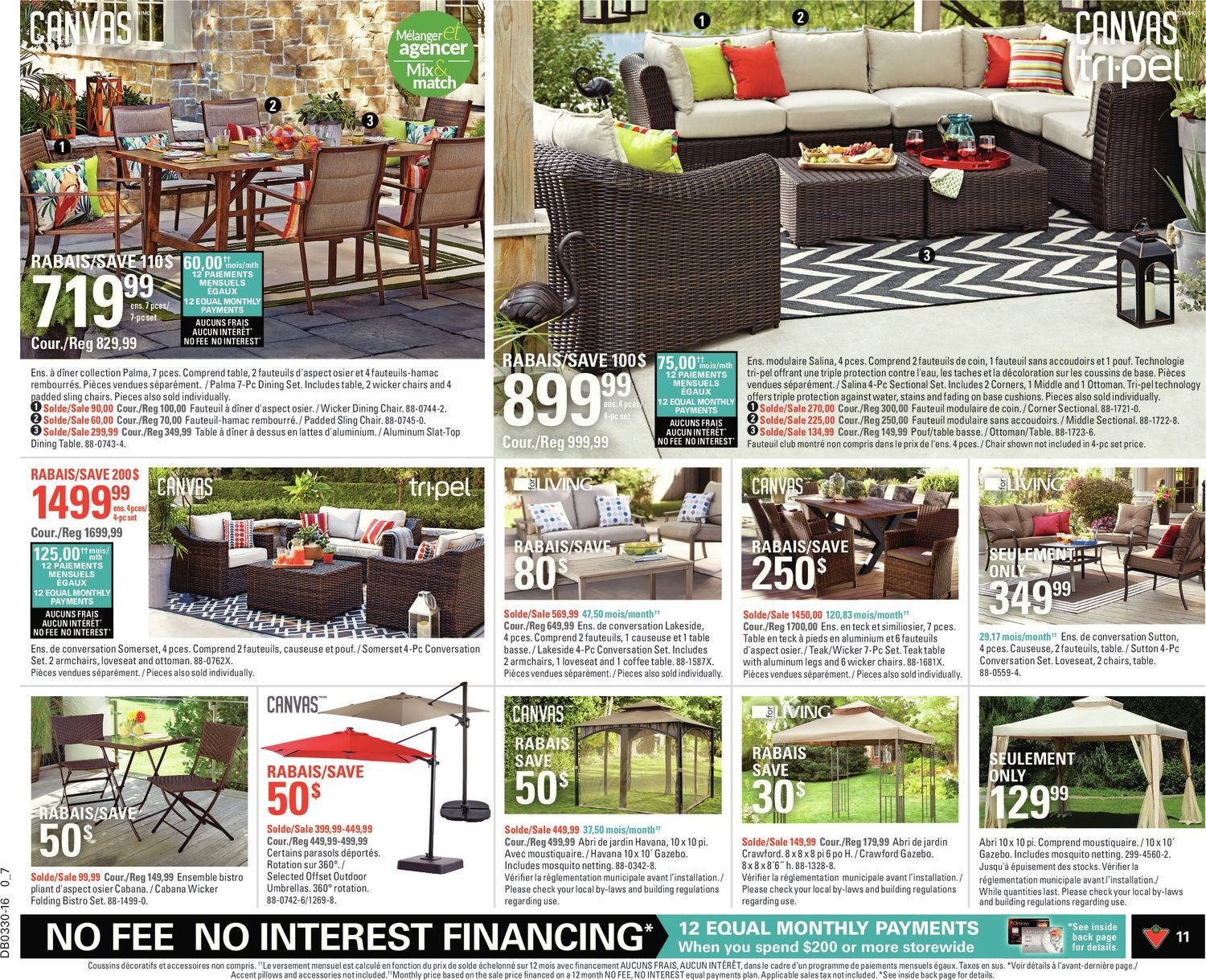 Fauteuils Relax Variance Canadian Tire Weekly Flyer Weekly Soak Up Summer Jul