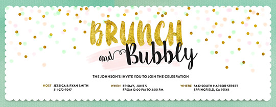 Free Brunch Lunch Get Together Invitations Evite
