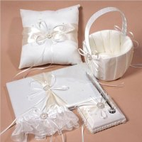 2016 New Wedding Set/ring Pillow / Guest Book / Pen Set ...