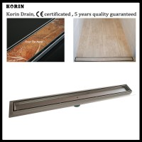 """900mm """"Tile"""" Style Stainless Steel 304 Linear Shower Drain ..."""