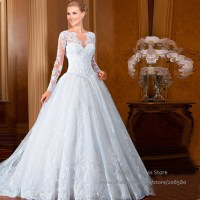 Gallery For > Princess Wedding Dress With Sleeves