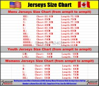 reebok ice hockey jersey size chart | PT. Sadya Balawan