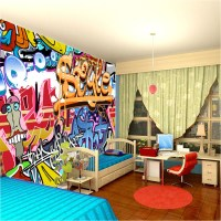 Gallery For > Graffiti Wallpaper For Bedrooms