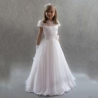 White Pageant Dresses for Little Girls Kids Prom Dresses ...