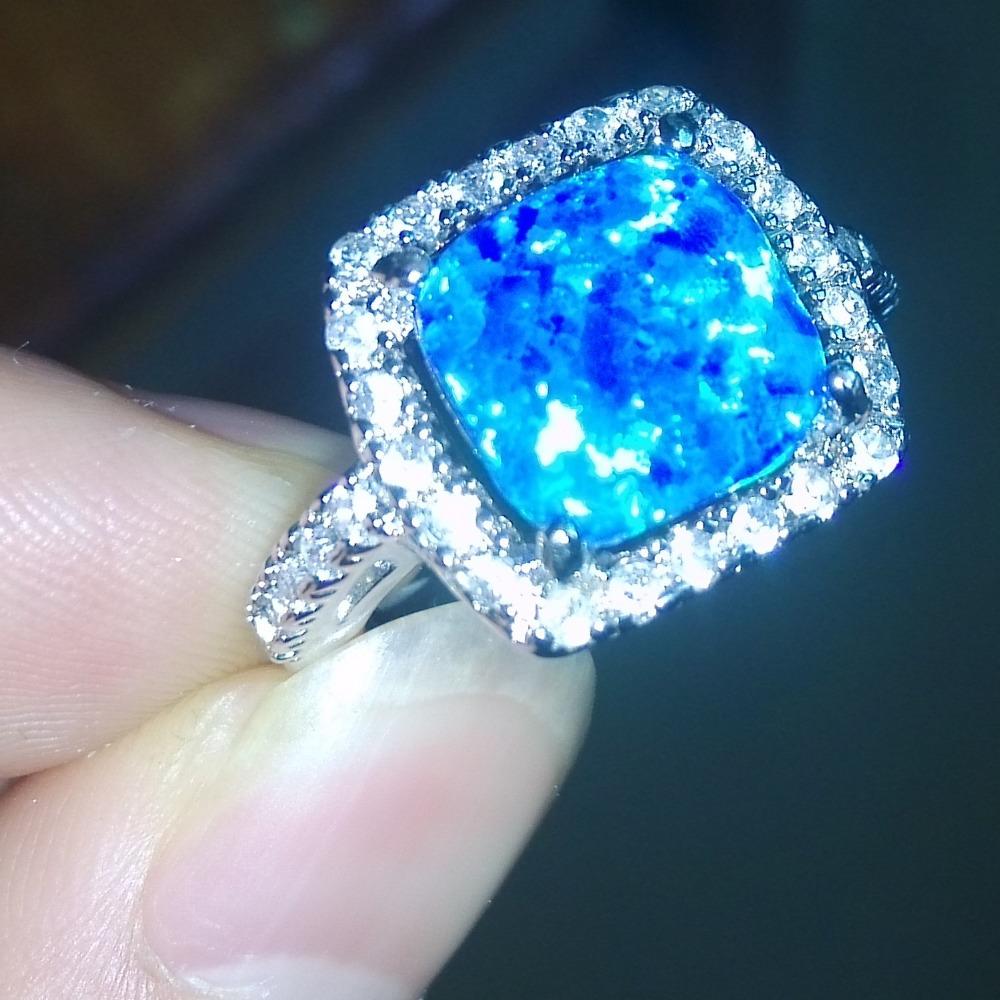 opal wedding ring sets opal wedding ring sets Opal wedding ring sets Ethiopian Opal And Topaz Wedding Set