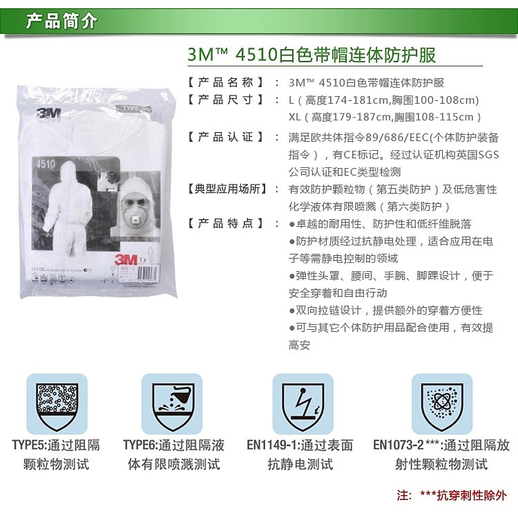 Eec Professional Qualifications Certification Application White Non Woven Fabric Coverall Clothes Anti Static And