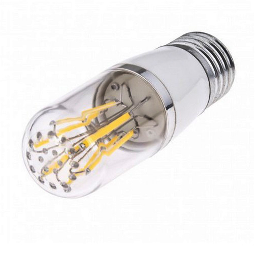 Led E 14 E27 Led 3w 4w 6w E14 Cob Filament 12v Lamp Dimmable Bulb 110v220v Bulb 3w 6w E27 Led Lamp Filament Housing Cob Corn Blub E27 E14