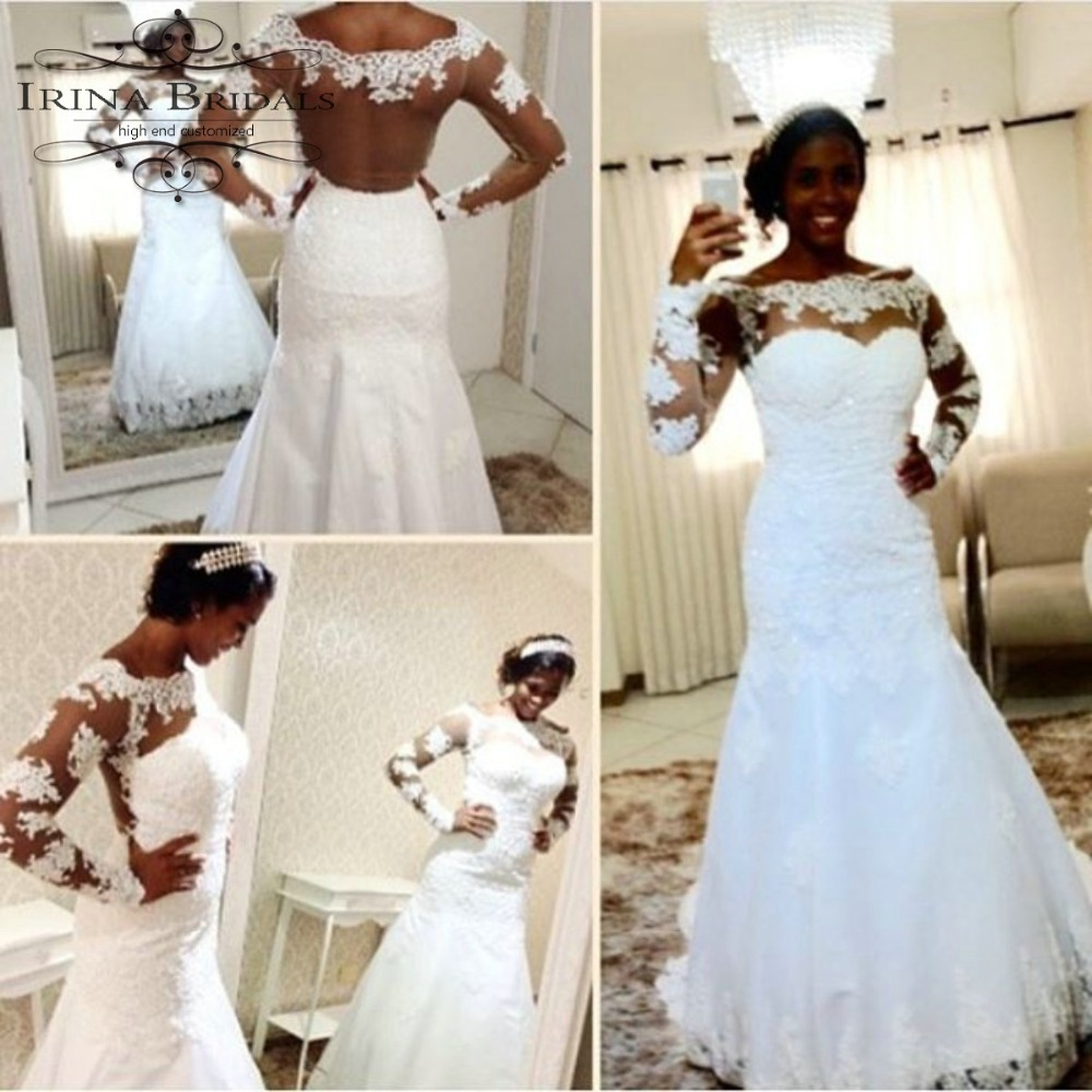 prom black lace trumpet mermaid black lace mermaid wedding dresses black mermaid wedding dresses Bride Dresses Buy Black Lace A Line Wedding Dresses
