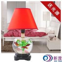 Glass-fish-tank-decoration-lamp-table-lamp-living-room ...