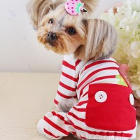Cute Cartoon Pink Pet Dog Winter Clothes Clothing for ...