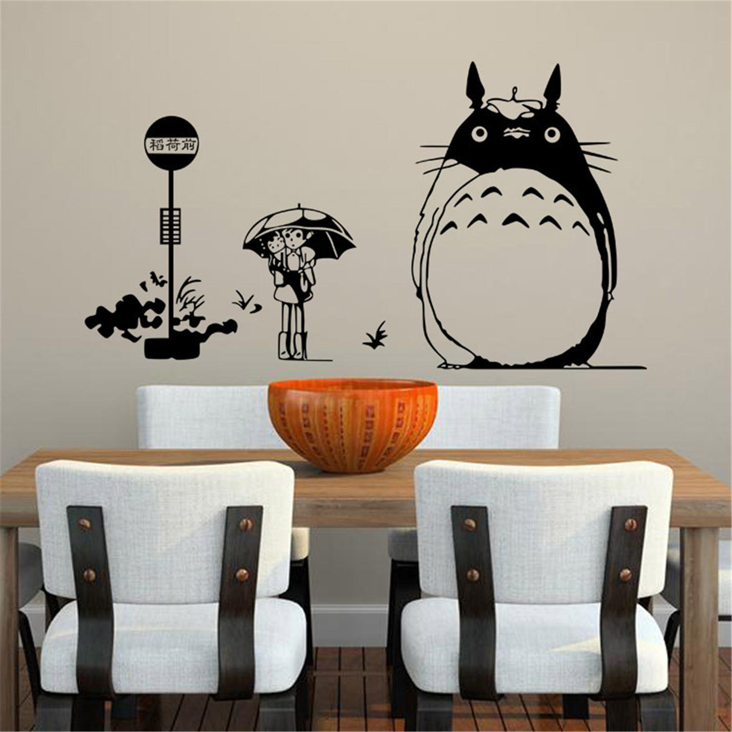 dragon cat wall stickers kids rooms home decorations wall contemporary cat kitten wall decoration wall art