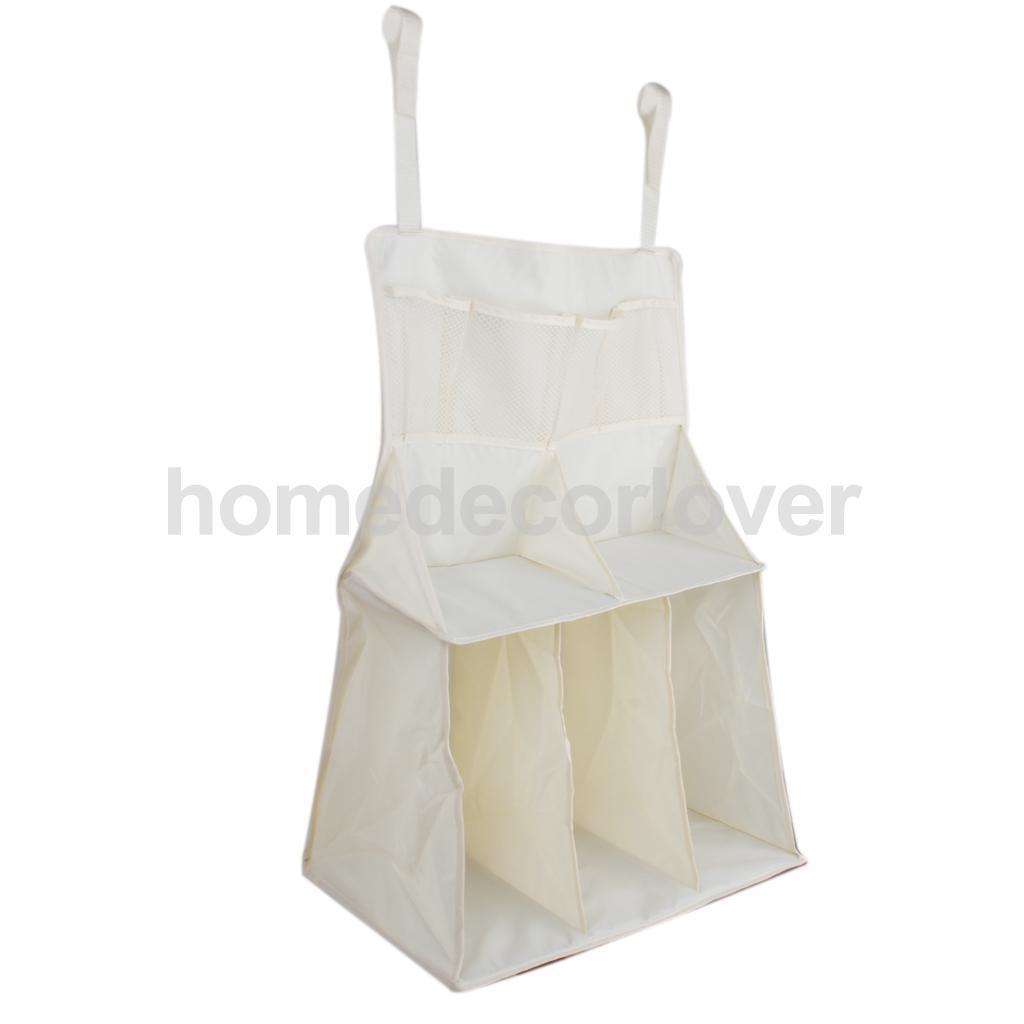 Waterproof Baby Bed Crib Nursery Storage Organizer Bag For