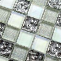 glass mosaic tile backsplash cheap crystal glass sheet ...