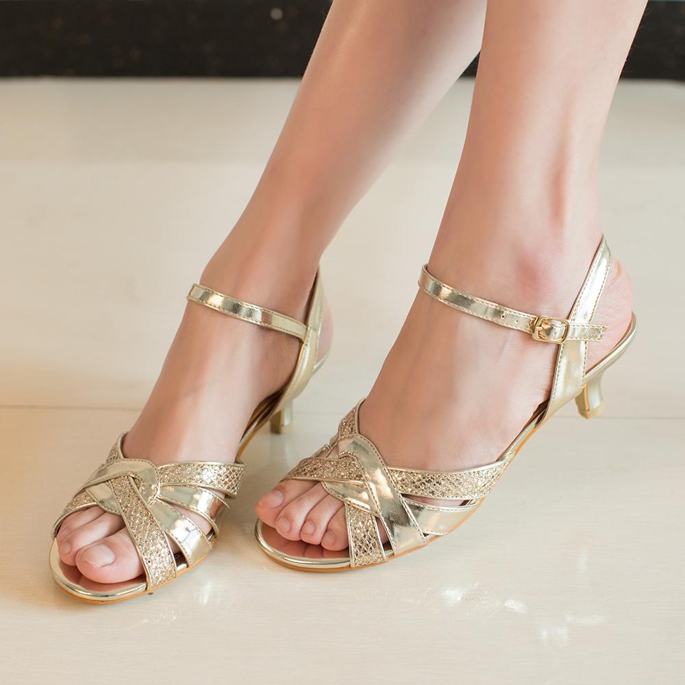 low heel wedding shoes Bridal Kitten Heels