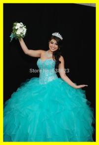 Poofy Blue Prom Dresses - Boutique Prom Dresses