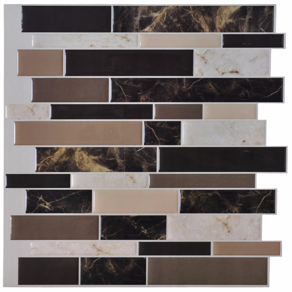 tiles peel stick wall paper vinyl sticker kitchen backsplash peel stick mosaic tiles kitchen bathroom backsplashes
