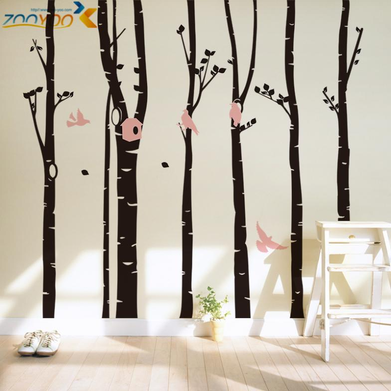 aliexpress buy classical large tree wall stickers home custom designed large windy tree wall decal wall decals features